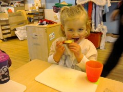 Wilsic Road Day Nursery Mealtime